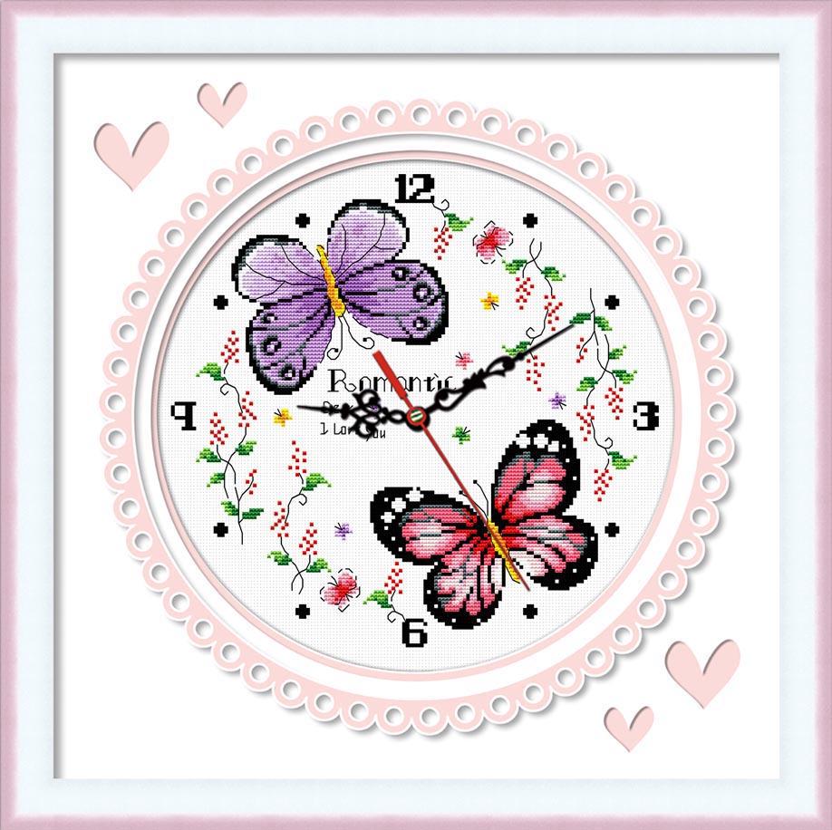 Вышивки наборы часы 57