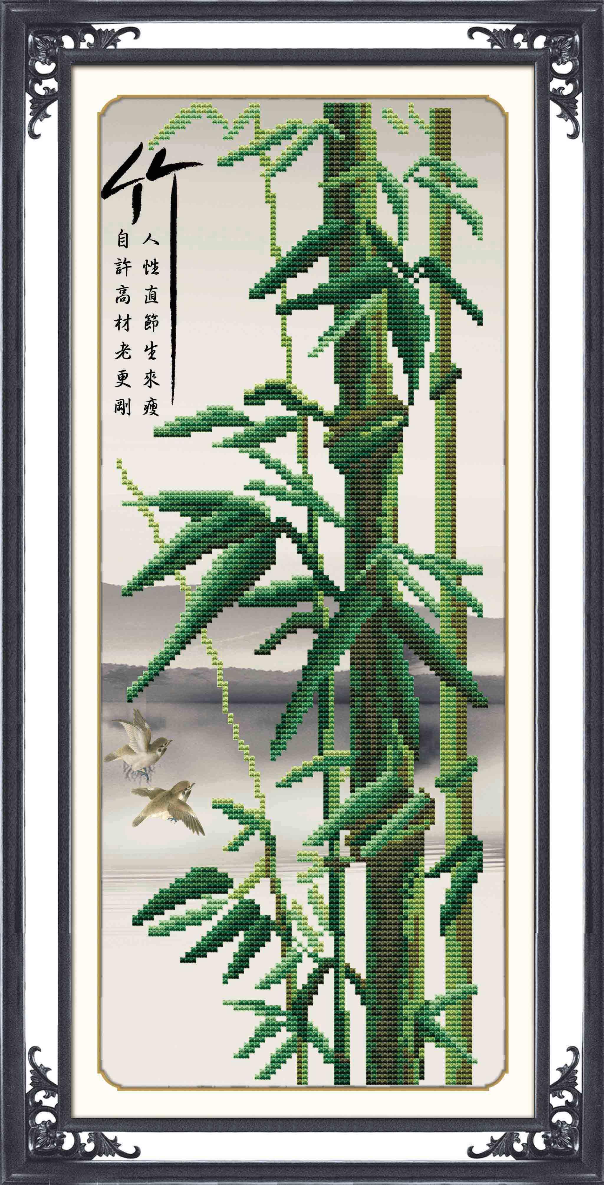 Схемы вышивки «бамбук» - Вышивка крестом 8