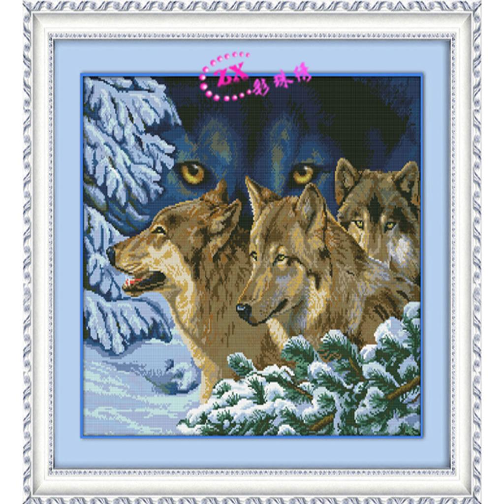 Вышивка бисером полная зашивка животные наборы6
