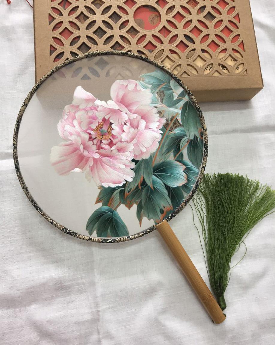 Вышивка китайской гладью фото