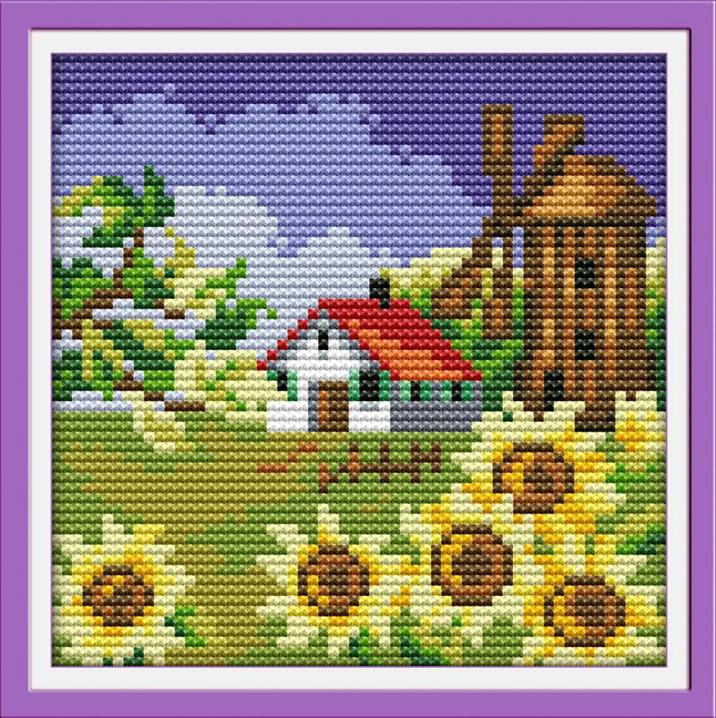 Алиэкспресс алмазная вышивка каталог пейзаж 52