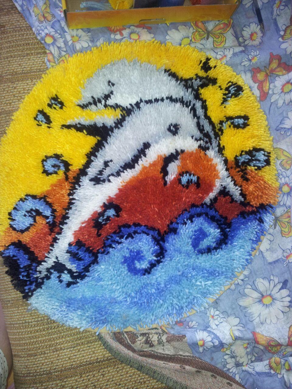 Методика ковровой вышивки 87